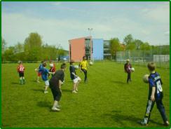 Sporthalle am Sportpark, Sporthalle Eisingen, Fußballschule